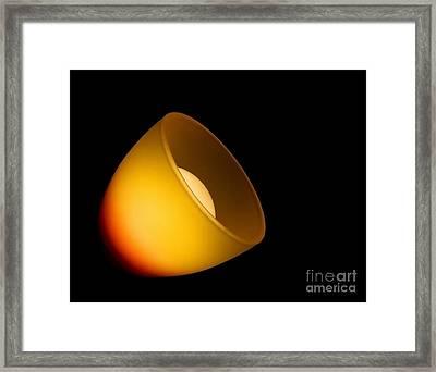 Light Lamp Framed Print