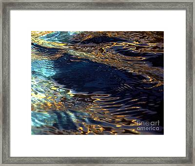 Light On Water Framed Print by Dale   Ford