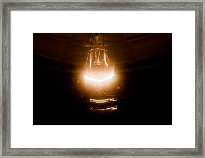 Light Framed Print