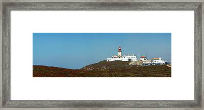 Lighthouse At Cabo Da Roca Framed Print