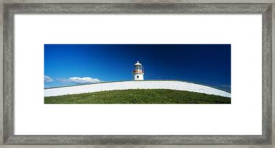 Lighthouse At St Johns Point, Donegal Framed Print by The Irish Image Collection