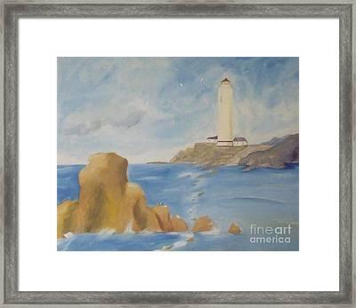Lighthouse Framed Print by Debra Piro