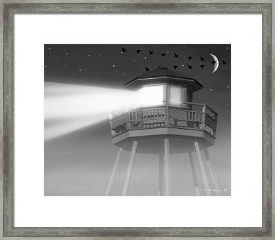 Lighthouse Dreaming  Framed Print by Brian Wallace