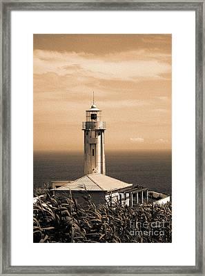Lighthouse Framed Print by Gaspar Avila