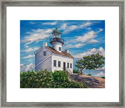 Lighthouse Framed Print by Lisa Reinhardt