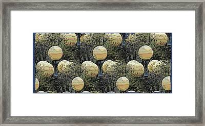 Lighting The Way Framed Print by Tim Allen