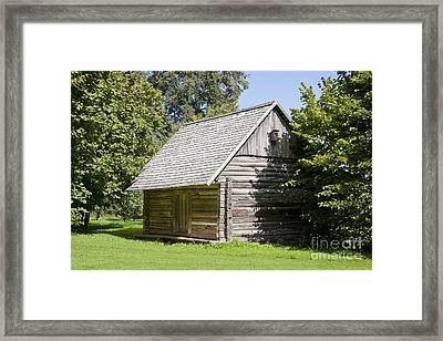 Liivi Museum Building Exterior Framed Print by Jaak Nilson