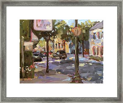 Lillies Framed Print by Jenny Anderson