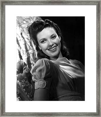 Linda Darnell Framed Print by Everett