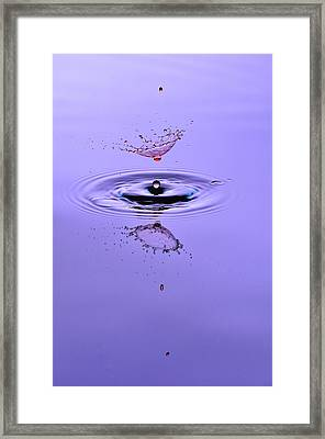 Liquid Collisions Framed Print by Gianfranco Merati