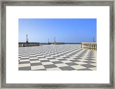Livorno - Terrazza Mascagni Framed Print