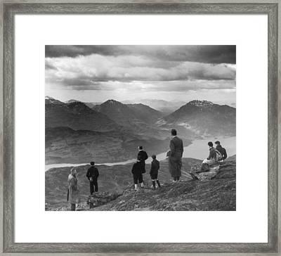 Loch Lomond Framed Print by Fox Photos