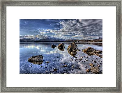 Loch Lomond Framed Print by Fiona Messenger