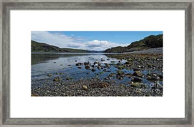 Loch Spelve Framed Print by Steve Watson