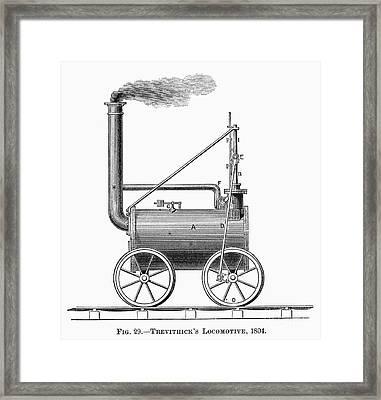 Locomotive, 1803 Framed Print