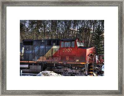 Locomotive Framed Print by Kim French