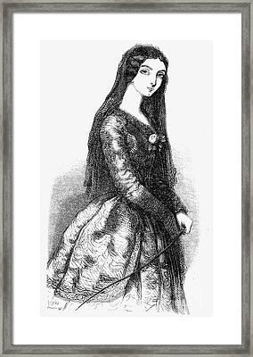Lola Montez (1818-1861) Framed Print