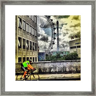 #london #london2012 #ignation #instahub Framed Print