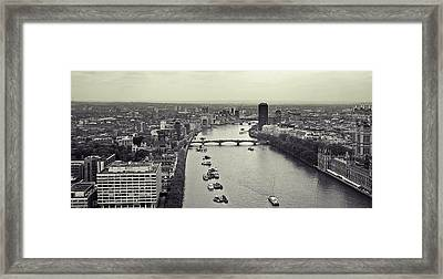 London Framed Print by Sharon Lisa Clarke