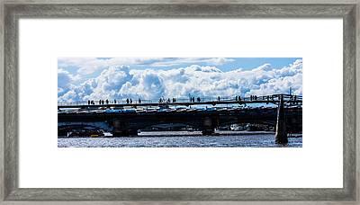 London Skyline Framed Print by Dawn OConnor
