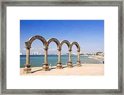Los Arcos Amphitheater In Puerto Vallarta Framed Print