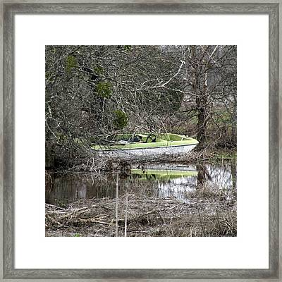 Lost Boat Framed Print by James Granberry