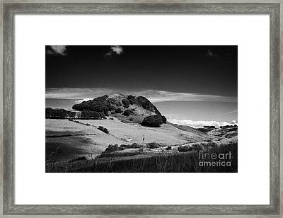 Loudoun Hill East Ayrshire Scotland Uk United Kingdom Framed Print by Joe Fox
