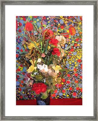 Love Birds Framed Print by HollyWood Creation By linda zanini