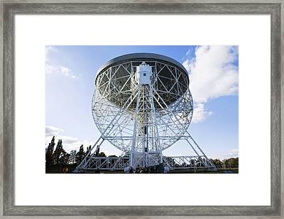 Lovell Radio Telescope Framed Print