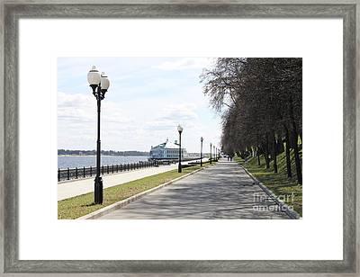 Lower Quay Framed Print by Evgeny Pisarev