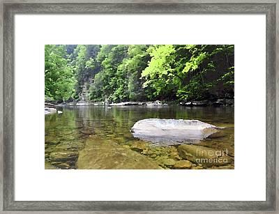 Loyalsock Creek Framed Print