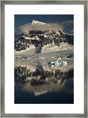 Luigi Peak Wiencke Island Antarctic Framed Print by Colin Monteath