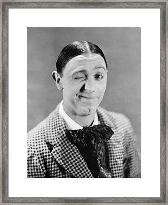 Lupino Lane (1892-1959) Framed Print