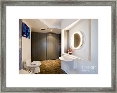 Luxury Bathroom Framed Print