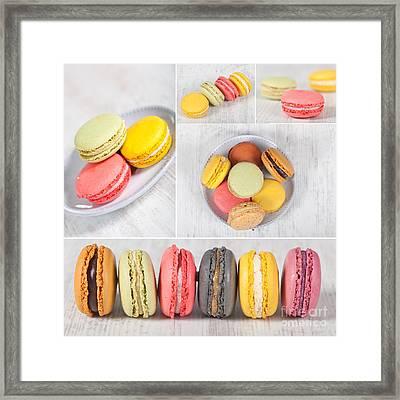 Macarons Framed Print by Sabino Parente