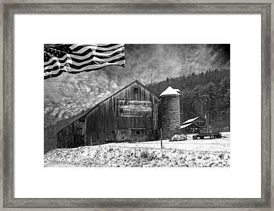 Made In America Framed Print by John Stephens