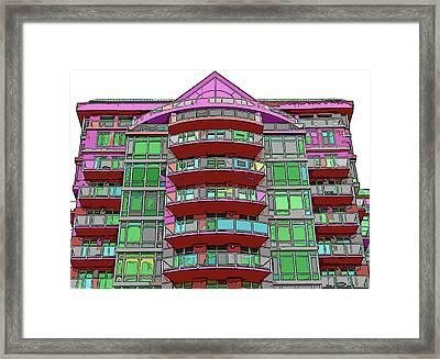 Magic Building 1 Framed Print