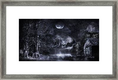 Magical Night Framed Print by Svetlana Sewell