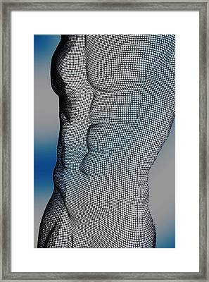 Male  Framed Print