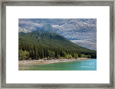 Maligne Lake Jasper Alberta Framed Print