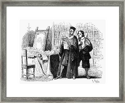 Manzoni: I Promessi Sposi Framed Print by Granger