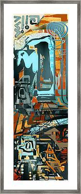Maoi Framed Print by Anne Weirich