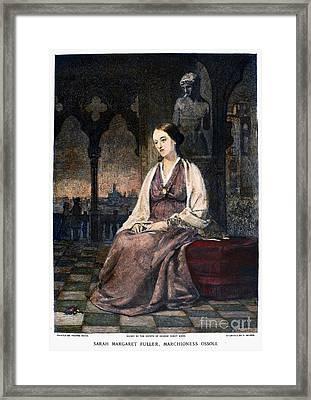 Margaret Fuller Framed Print
