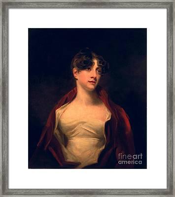 Margaret Moncrieff Framed Print by Sir Henry Raeburn