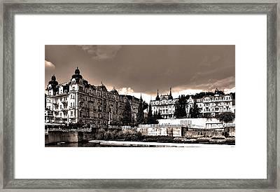 Marianske Lazne ... Framed Print
