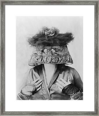 Marie Dressler 1868-1934, Canadian Born Framed Print by Everett