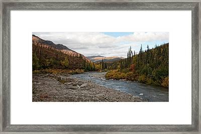 Marion Creek Framed Print by Gary Rose