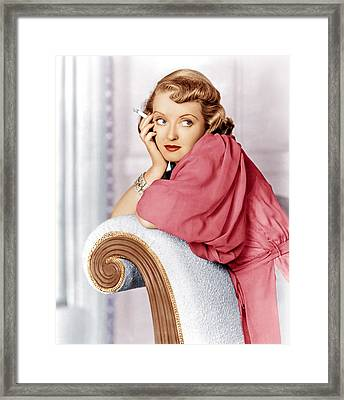 Marked Woman, Bette Davis, 1937 Framed Print by Everett