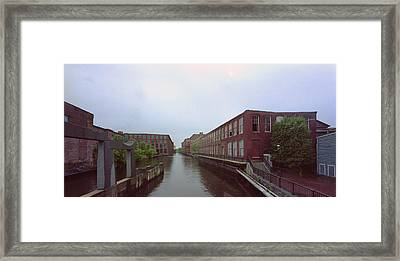 Market Mills Lowell Framed Print by Jan W Faul