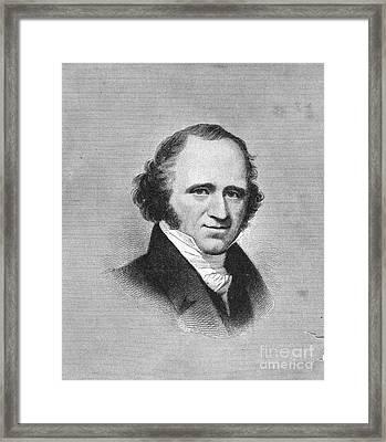 Martin Van Buren Framed Print by Granger